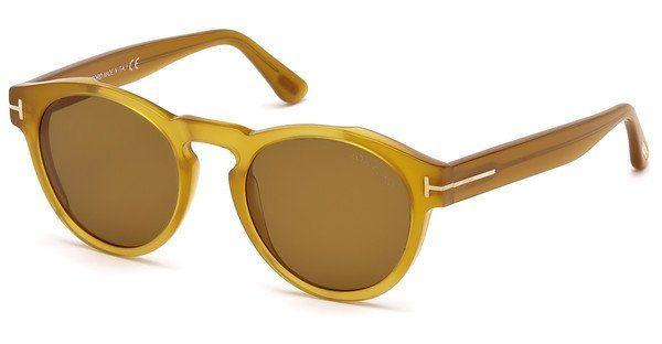 Tom Ford Sonnenbrille » FT0615«, gelb, 41E - gelb/braun
