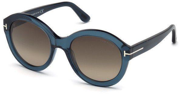 Tom Ford Damen Sonnenbrille » FT0611«, grün, 98K - grün/braun