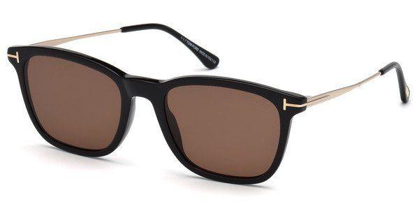 Tom Ford Herren Sonnenbrille » FT0625«, schwarz, 01E - schwarz/braun