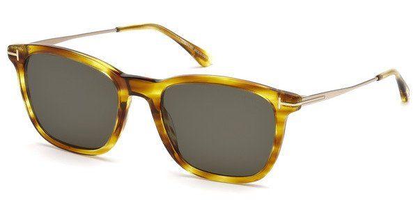 Tom Ford Herren Sonnenbrille » FT0592«, schwarz, 01A - schwarz/grau