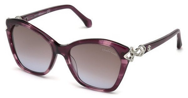 roberto cavalli Roberto Cavalli Damen Sonnenbrille » RC1077«, braun, 47F - braun/braun