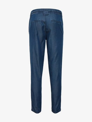 Tom Tailor 7/8-Hose Hose im Loose Fit mit Gürtel