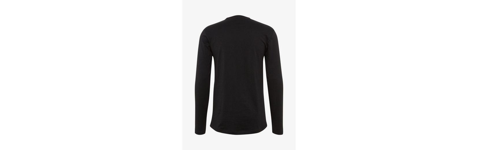 Freies Verschiffen Größte Lieferant Tom Tailor Denim T-Shirt Langarmshirt mit V-Ausschnitt Steckdose Billigsten Billig Verkauf Rabatt VROFByK