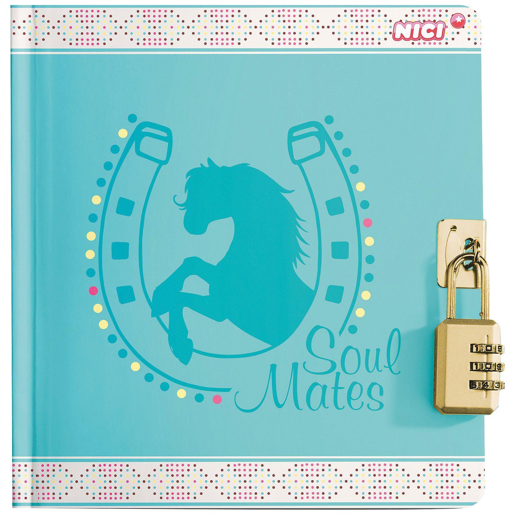 Tagebuch Soulmates mit Zahlenschloss