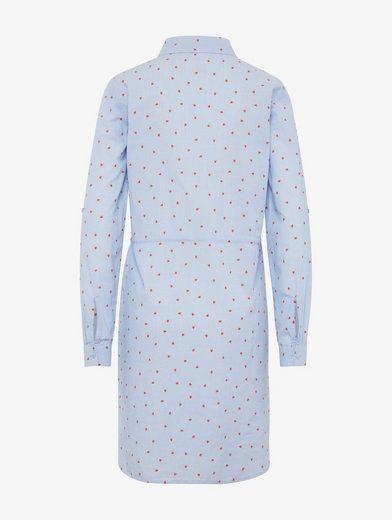 Tom Tailor Blusenkleid Blusenkleid mit Herzen