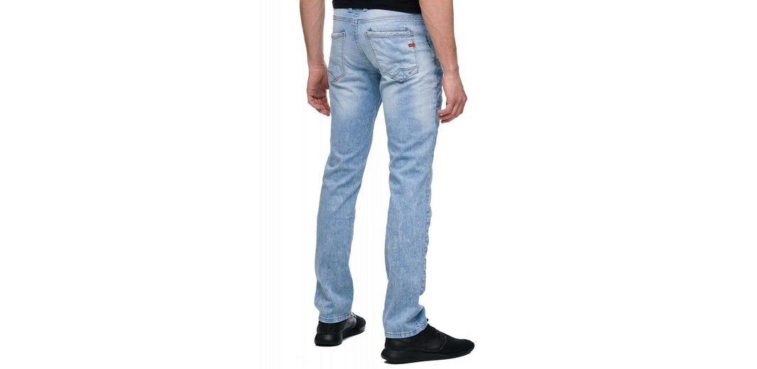 Rusty Neal Jeans im Used-Look Verkauf Veröffentlichungstermine Countdown-Paket Zum Verkauf Niedriger Preis Versandgebühr JRcuZcZ