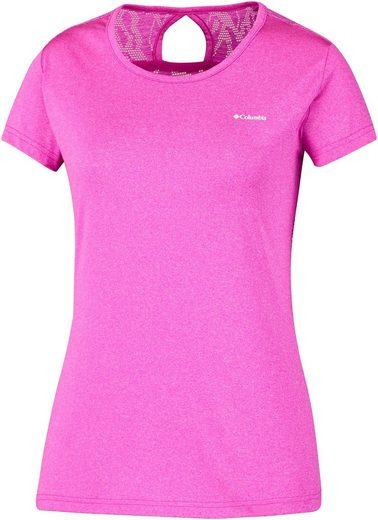 Columbia T-Shirt Peak to Point Novelty SS Shirt Women
