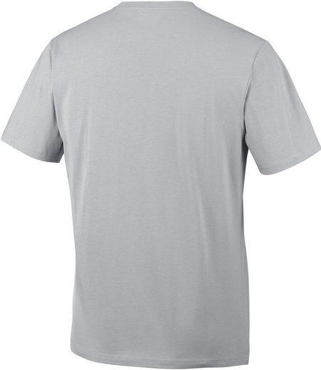 Colombie T-shirt Csc Montagne Coucher De Soleil Tee Hommes Gris