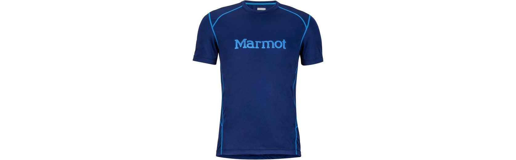 Marmot T-Shirt Windridge SS Shirt Men with Graphic Online Wie Vielen Verkauf Grau-Outlet-Store Online IvmN4gcu0