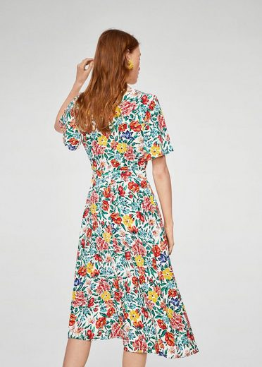 Mango Dress With Floral Print