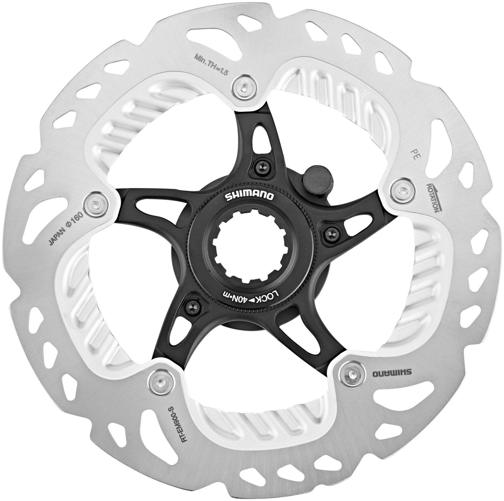 Shimano Bremsscheibe »RT-EM900 Bremsscheibe 160mm CL für Steps«