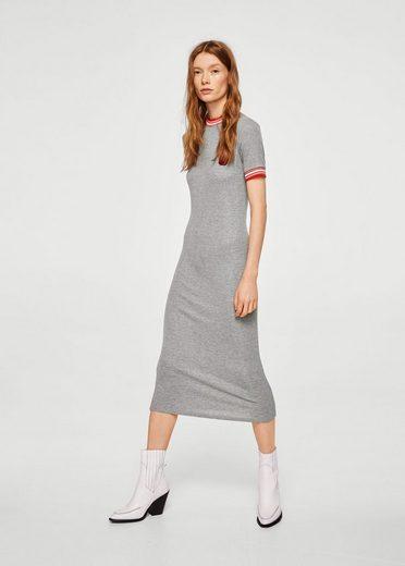 MANGO Kleid mit Zierpatches
