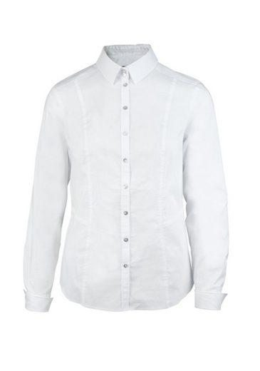 bianca Hemdbluse SENJA, klassische Bluse mit Manschette