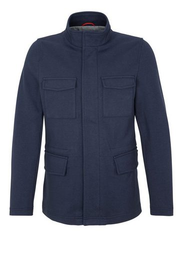 s.Oliver BLACK LABEL Übergangsjacke im Sweat-Look