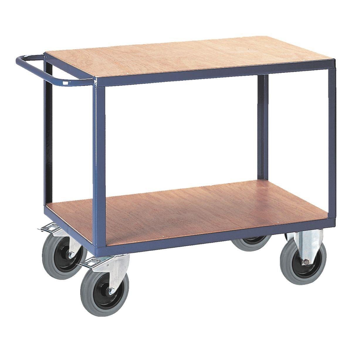 ROLLCART Tischwagen mit 2 Ladeflächen