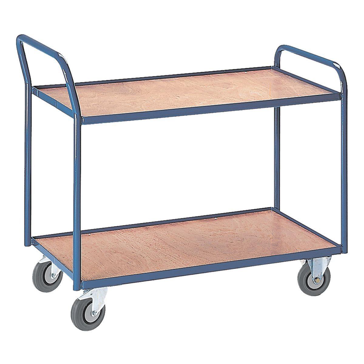 ROLLCART Tischwagen mit 2 Etagen