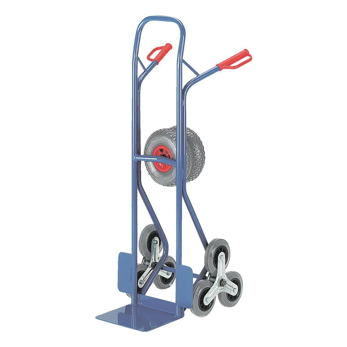 ROLLCART Treppenkarre mit Wechselrädern
