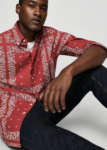 Mango One Regular Fit-shirt With Paisley Pattern