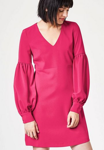 Hallhuber A-line Dress With Volume Sleeves