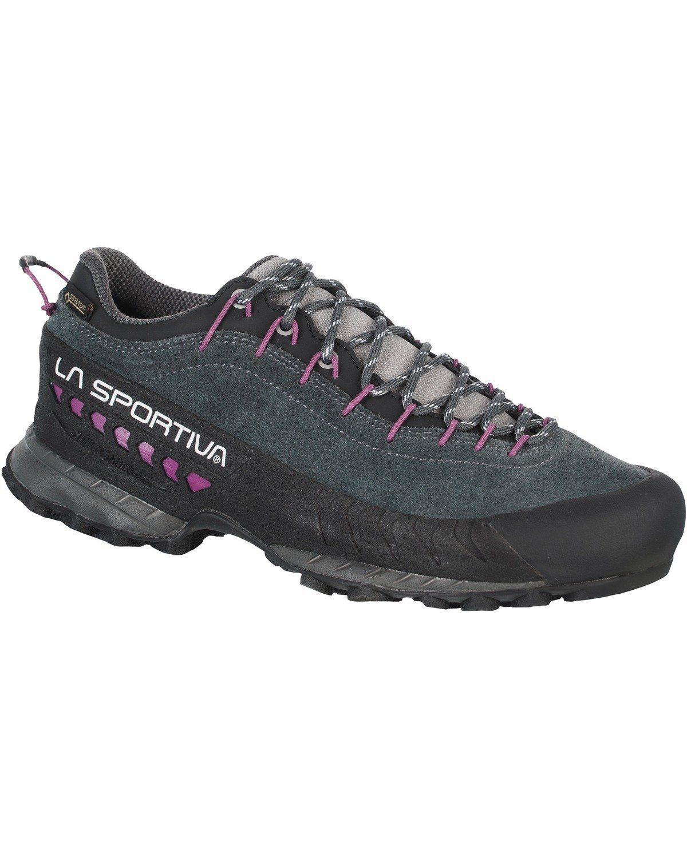 La Sportiva Damen Trekking Halbschuh TX 4 GTX  Carbon#ft5_slash#Lila