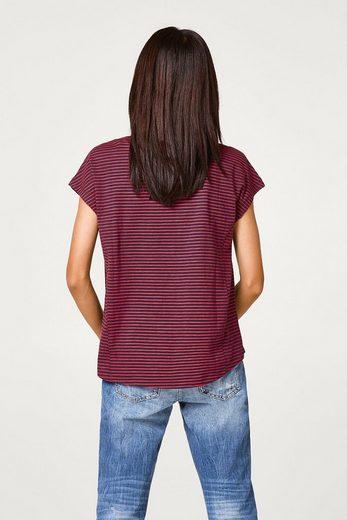 ESPRIT Baumwoll-T-Shirt im Muster-Mix