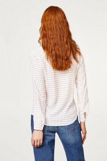 ESPRIT Leicht Hemdbluse aus 100% Baumwolle