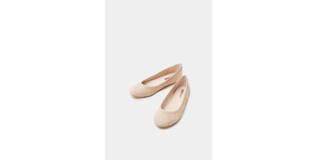 Preiswerte Reale Eastbay ESPRIT Ballerina in Rustikleder-Optik Liefern Online-Verkauf Kaufen Sie Günstig Online Preis 46GKPxrp
