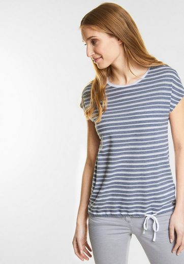 Cecil Shirt With Stripes Ajour