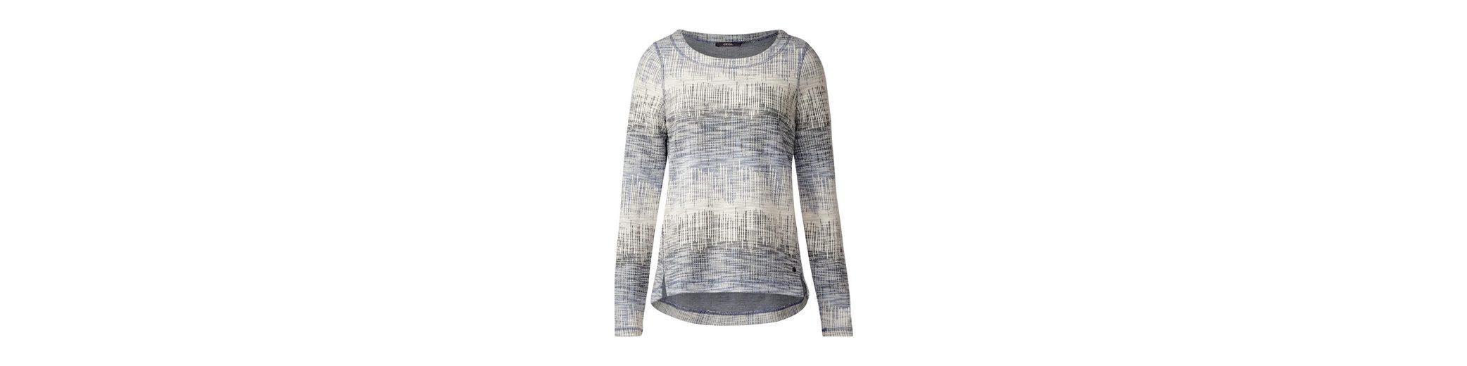 Spielraum Neueste CECIL Weiches Jacquard Sweatshirt Günstig Kaufen Erschwinglich Gut Verkaufen Verkauf Großer Verkauf Auslass Für Schön hFuxiWeBNy