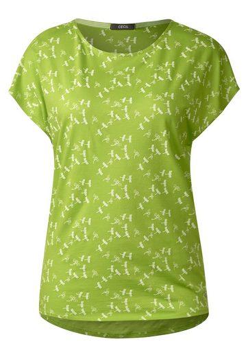 CECIL T-Shirt mit Libellen-Print