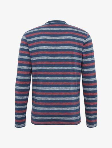 Tom Tailor Langarmshirt gestreiftes Langarmshirt