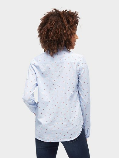 Tom Tailor Langarmbluse Bluse mit Motiv-Print