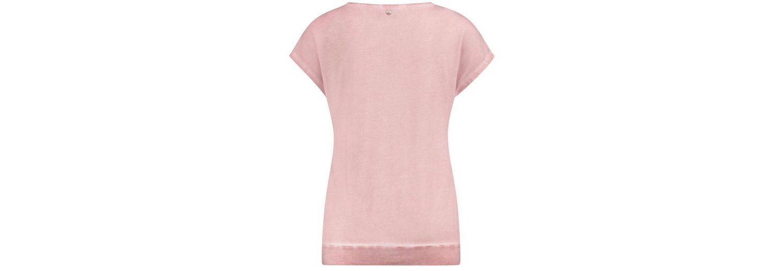 Auslass Original Angebot Taifun T-Shirt Kurzarm Rundhals Shirt mit Spitze und Rüschen Freies Verschiffen Visum Zahlung Aus Deutschland Billige Neue Stile eXvur