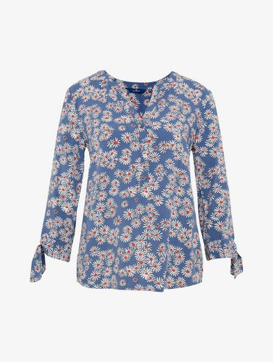 Tom Tailor Shirtbluse gemusterte Bluse