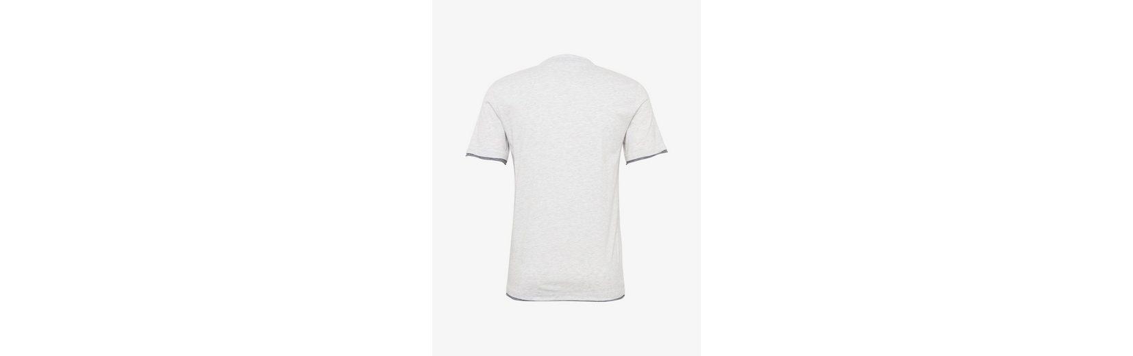 Tom Tailor T-Shirt T-Shirt in Melange-Optik Visa-Zahlung Günstig Online UlX7Q2CEg