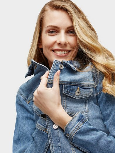 Tom Tailor Jeansjacke Basic Jeansjacke