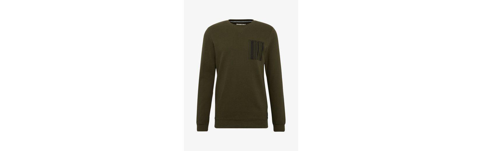 mit Tom Struktur Denim Tailor Sweatshirt Tailor Sweatshirt Tom Denim zHW4qTf0Uc