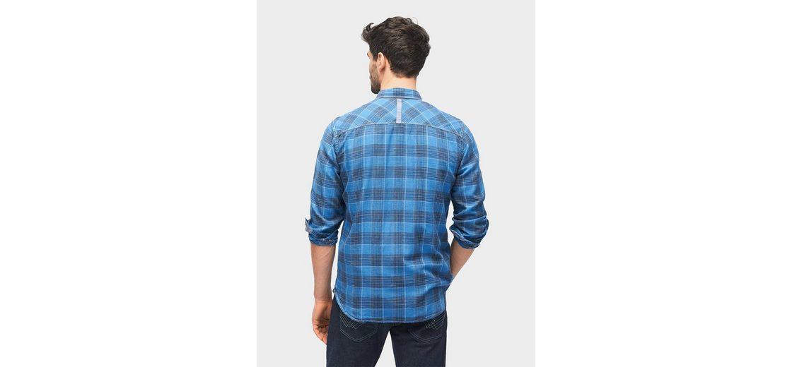 Tom Tailor Hemd kariertes Hemd mit Brusttaschen Billig Verkauf Erschwinglich Billig Verkauf Kauf CfTvwt6