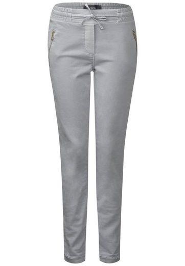 CECIL Joggpants mit Zipper-Taschen