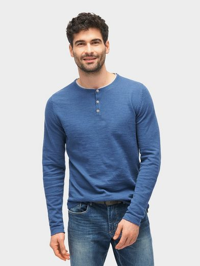 Tom Tailor 2-in-1-Pullover Pullover mit Underlayer