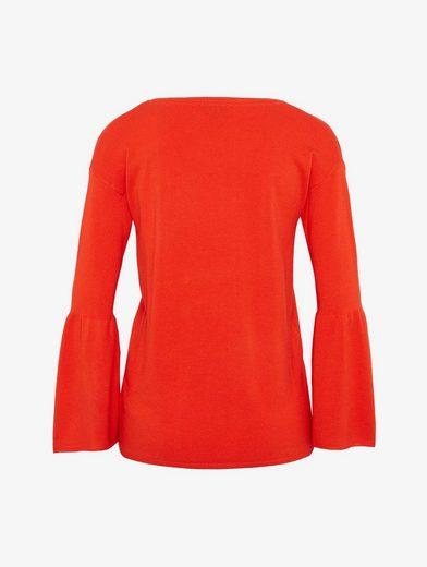 Tom Tailor Rundhalspullover Pullover mit Streifen-Detail