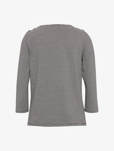 Tom Tailor Langarmshirt Shirt mit Schnürung