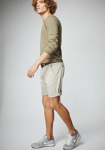 Pierre Cardin Crew-neck Pullover In Sluboptik - Modern Fit