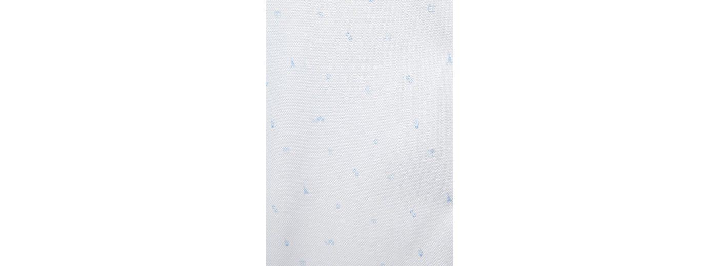 PIERRE CARDIN Hemd mit Paris-Print, Kentkragen - Slim Fit
