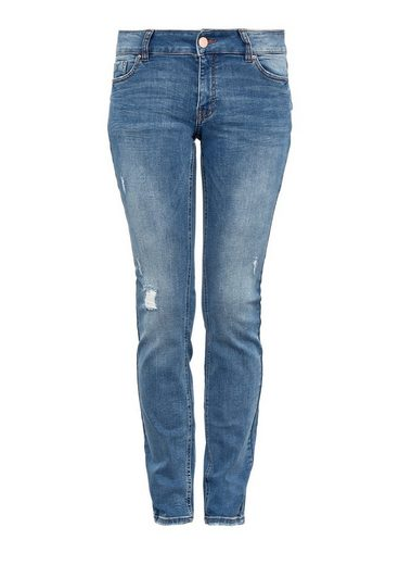 Q/S designed by Sadie Superskinny: Ankle-Jeans