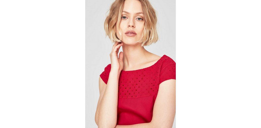Auslass Fälschen Besuchen Neu Zu Verkaufen s.Oliver RED LABEL Kleid mit Lochspitze Freies Verschiffen Rabatt 10tKZQ