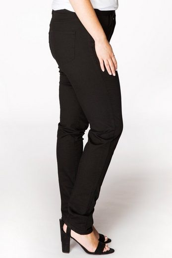 Yoek Straight-Jeans ELLA, High Waist