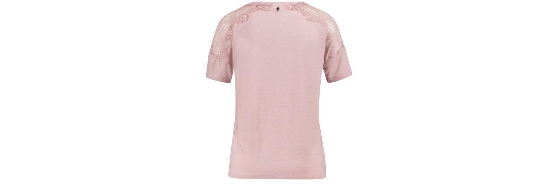 Arm Rundhals Spitze T Shirt mit Taifun Blusenshirt 4 3 vHWqI