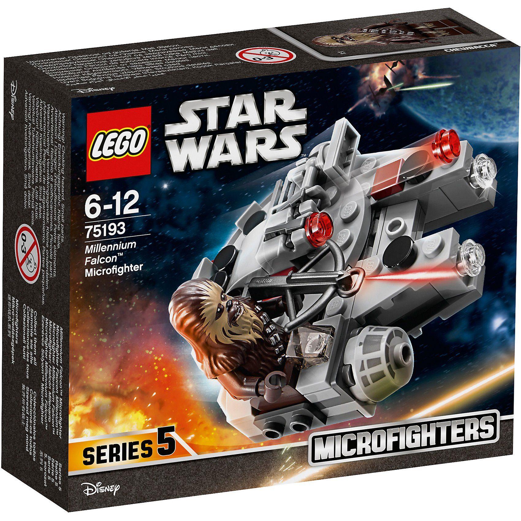 LEGO 75193 Star Wars: Millennium Falcon™ Microfighter