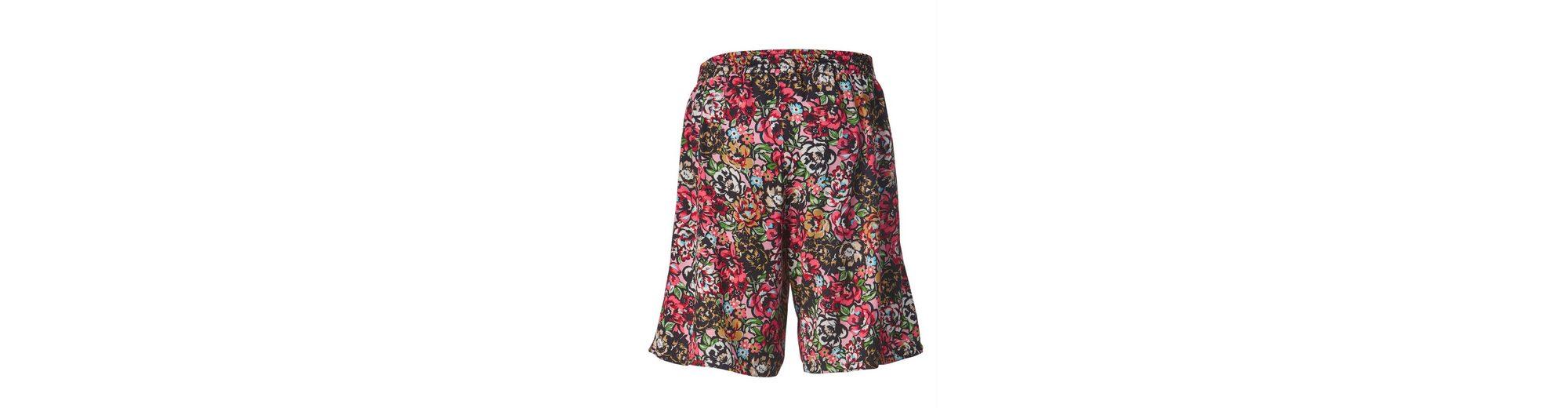 Angel of Style by Happy Size Bermuda mit Blumen-Print Rabatt-Spielraum Store Empfehlen Online Preiswerte Reale Eastbay mXdwkj